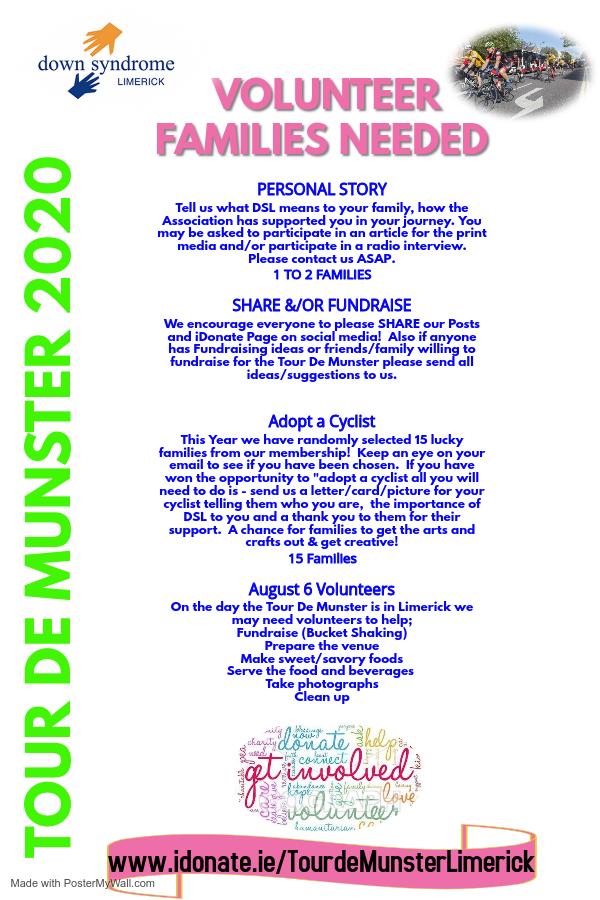 Tour de Munster 2020 - Volunteers needed