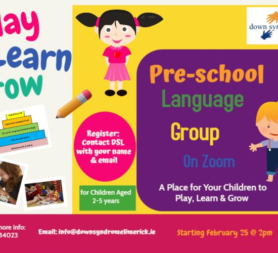Pre-School Language Group Session