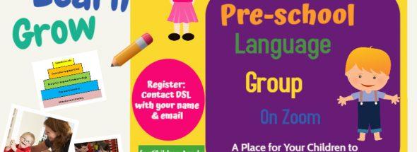 Pre-School Language Group Session